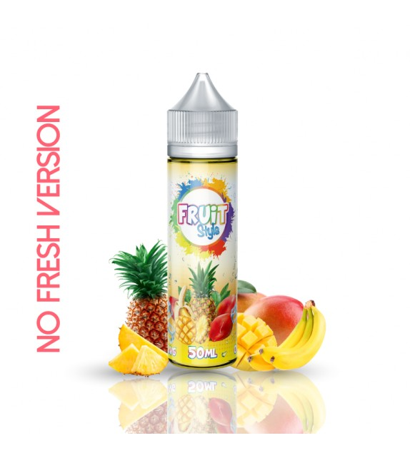 E LIQUIDE TROPICAL NO FRESH 50ml