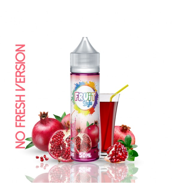E LIQUIDE GRENADINE NO FRESH 50ml